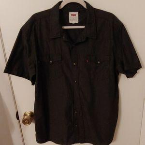 Levis Men's Short Sleeve Shirt